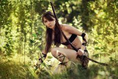 Gallery For > Female Warrior Costume Diy