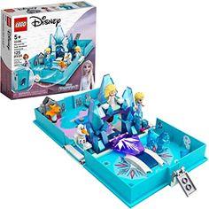LEGO Disney Elsa and The Nokk Storybook Adventures 43189; A Popular Building Toy or Fun Kit, New 2021 (125 Pieces) Frozen Disney, Film Disney, Disney Toys, Disney Stuff, Lego Disney Princess, Princess Toys, Legos, Lego Elsa, Buy Lego