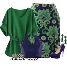 Linen Green by amo-iste on Polyvore featuring J.McLaughlin, Jessica Simpson, Tom Ford, Effy Jewelry and Yves Saint Laurent
