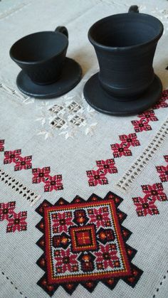 Linen Fabric, Machine Embroidery, Cross Stitch, Delicate, At Least, Traditional, Tablecloths, Antiques, How To Make