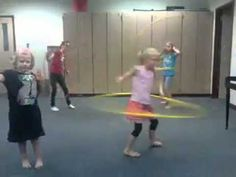 UIL Music Memory - Movement Activity to Olympic Fanfare and Theme by Williams. Music lesson - hula hoops and ribbon wands!