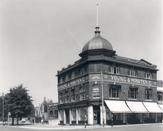 (Corner of The Grove & Romford Road, Stratford). East End London, Old London, London History, Local History, Stratford London, Newham, London Street, Town Hall, Beautiful Buildings