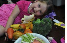 Con las verduras se puede jugar a hacer figuras en el plato. Por su color y forma usted puede hacer que su hijo disfrute de los alimentos de una forma más divertida...