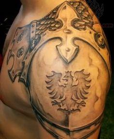 Eagle Crest Armor Tattoo