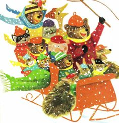 RIchard Scarry, Sled