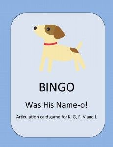 Activity Tailor: Bingo Was His Name-O! Pinned by SOS Inc. Resources. www.pinterest.com/sostherapy