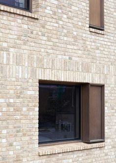 Image 9 of 21 from gallery of Old Church Street Town House / TDO Architecture. Photograph by Ben Blossom Brick Cladding, Brickwork, Brick Architecture, Residential Architecture, Ancient Architecture, Sustainable Architecture, Landscape Architecture, Brick Design, Facade Design