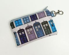 Tardis Coin Purse // Etsy