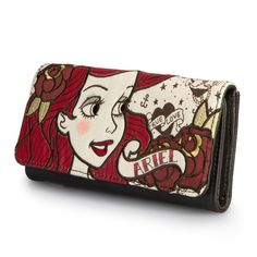 Daily Disney Finds: LoungeFly Ariel wallet