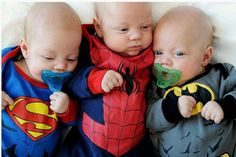 Two months after Thomas, Mason and Luke Low were born, each triplet was diagnosed with a rare eye cancer, retinoblastoma.