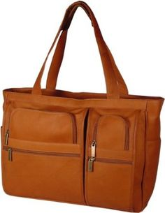 Womens Multi Pocket Briefcase Clothing Business Laptop