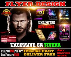 design a SUPER duper fresh flyer in 6hrs by flyers1st