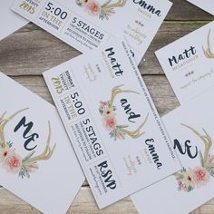 Project Various Invitations & Wedding Stationery Wedding Stationery, Wedding Invitations, Rsvp, Invite, Our Wedding, Fairy Tales, Reception, Branding, Graphic Design