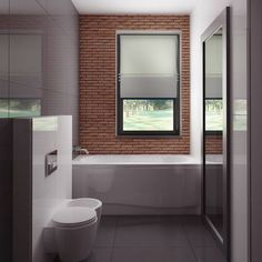 Z282 to wyjątkowy dom z kategorii projekty domów z garażem dwustanowiskowym Beautiful House Plans, Modern House Plans, Beautiful Homes, Toilet, How To Plan, Home Decor, House Of Beauty, Flush Toilet, Decoration Home