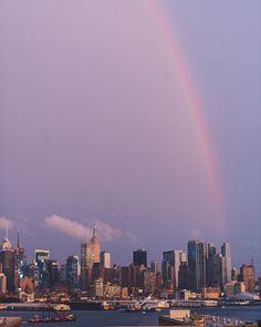 Blvd. East- New York City Skyline