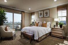 The Villas Residence Three: Master Bedroom at Pacific Shores!