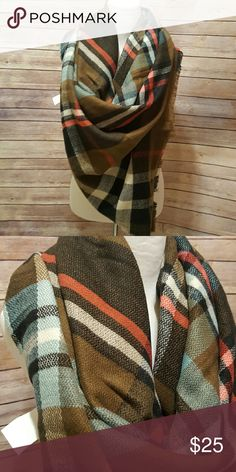 Blanket scarf Blanket scarf in brown. New with tags Accessories Scarves & Wraps