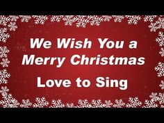 We wish you a Merry Christmas! Our YouTube channel is full of wonderful Christmas carols. www.youtube.com/user/childrenlovetosing