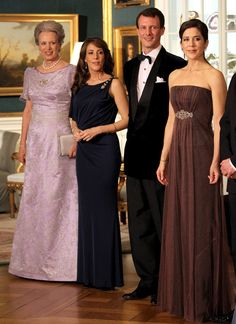 Members of the Danish Royal Family