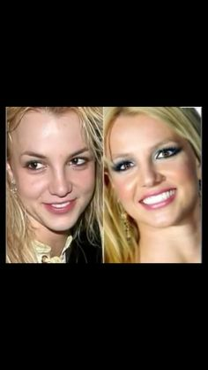 Britney Spears - beautiful with or without makeup