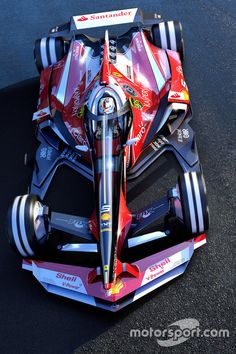 How could be Ferrari F1 in 2030... WOW!!