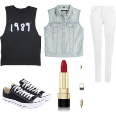 Untitled #47 by mayizquierdo13 on Polyvore featuring polyvore fashion style J Brand WearAll Converse Charlotte Russe Dolce&Gabbana