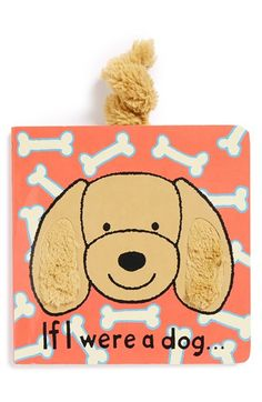 Jellycat 'If I Were a Dog…' Board Book available at #Nordstrom