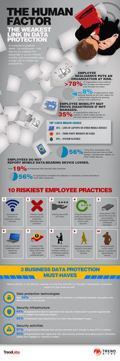 Infographic: The Human Factor in Data Protection | Reputational Compliance