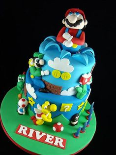 Super Mario Cake by Cake by Kim
