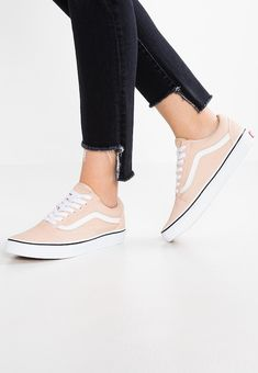 5f31a752fc Chaussures Vans OLD SKOOL - Baskets basses - frappe true white beige  79