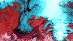 Earth becomes art in breathtaking satellite imagery