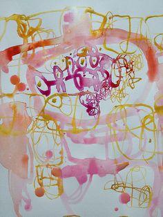 watercolor drawing Lari Washburn