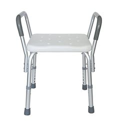 MedMobile Heavy Duty Bath Bench with Removable Armrests -- This is an Amazon Associate's Pin. Click the image to find out more on Amazon website.