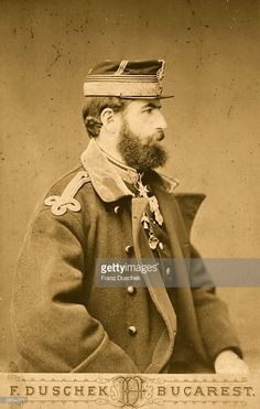 Carol I, King of Romania (born Karl Eitel Friedrich of Hohenzollern- Sigmaringen, 1839 - photographed two years after Romania gained full independence upon the Russian-Romanian victory over the Ottomans. Romanian Royal Family, Royal Weddings, Kaiser, Ferdinand, My King, My Father, Victorious, Royalty, Actors