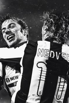 Del Piero & Nedved #JUVENTUS #Legends