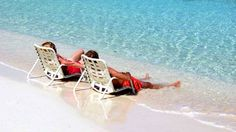 Relax on a warm, tropical beach during a cruise excursion on the Norwegian Cruise Line, Pearl. Sailing Oct. 25-30, 2014.  #Cruise #excursions #wine