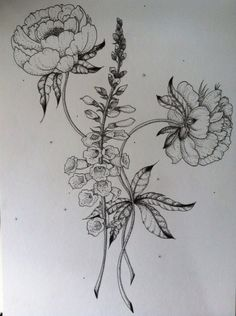foxglove tattoo - Google Search