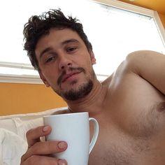 James Franco.  JJ men coffee