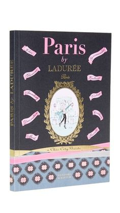 Books with Style: Gifts from #ShopBop Paris By Laduree: Chic City Guide, In Paris by Ladurée, author Serge Gleizes curates 200 favorite Parisian addresses and guides readers to the best that the most elegant city in the world has to offer in cuisine, interior design, table décor, beauty, fashion, hotels, and culture—in a book small enough to carry while traveling. Beautifully illustrated with more than 200 color photographs and illustrations.