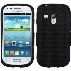 MYBAT Astronoot Protector Case for Samsung Galaxy S3 Mini - Black