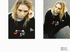 Always Sometimes Anytime. Featuring Nom D jumper to die for.
