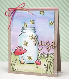 Lawnscaping Challenge: Lawnscaping Challenge: Distress Addicts sponsored by Lawn Fawn