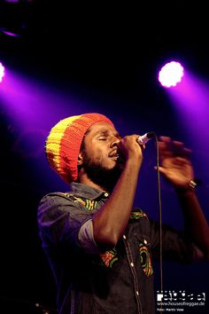 Reggae artist Chronixx in Munich.