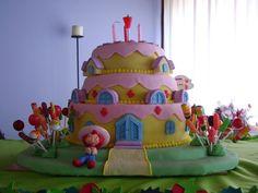 Tortas De Cumpleaños Frutillita – Rosita Fresita cakepins.com