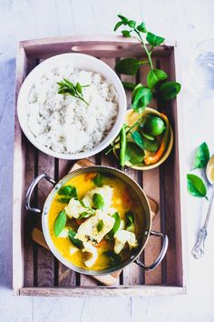 Coconut and Lemon Fish Stew | Playful Cooking