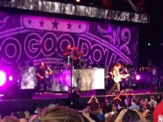 The Goo goo dolls, John Rzeznick brilliant song writer and singer for the last 25yrs!