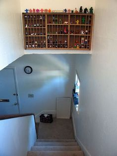 Storage Above Stairwell Google Search Stairs In 2019