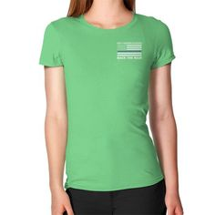 Back the Blue Police Women's T-Shirt