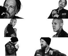 Chibs, Juice and Opie, my 3 favorites on Sons of Anarchy.