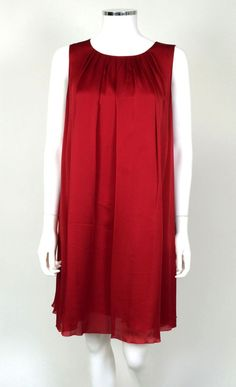 Andrew GN Silk Dress - Size 38 (US 8) - Retail price $2,000 - Our price $175 - Sale supports ASPCA